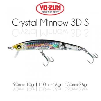 Yozuri 3D Crystal Minnow S