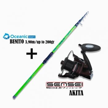 Oceanic Combo Benito 3.90m + Akita