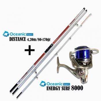Oceanic Combo Distance + Energy Surf 8000