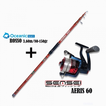 Oceanic Combo Rosso 3.60 - Aeris 6000