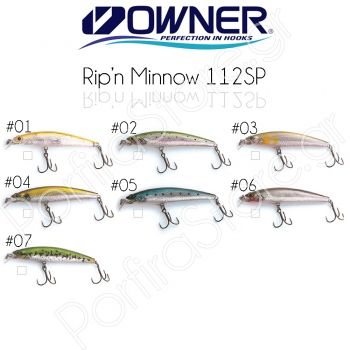 Owner Rip'n Minnow 112SP