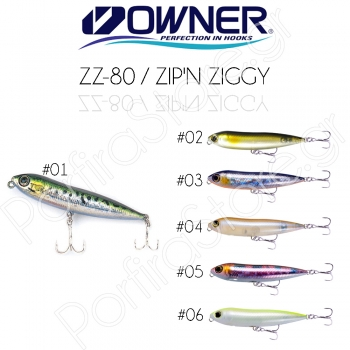 Owner ZZ-80 / Zip'N Ziggy