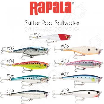 Rapala Skitter Pop Saltwater