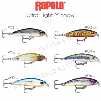 Rapala Ultra Light Minnow