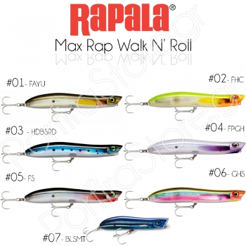 Rapala Max Rap Walk n Roll