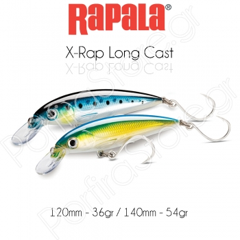 Rapala X-Rap Long Cast