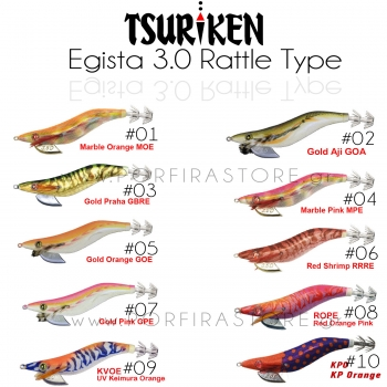 Tsuriken Egista 3.5 Rattle Type