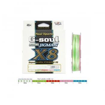 YGK G-Soul Super 300m 8-Braid