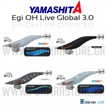 Yamashita Egi Oh Live Global 3.0