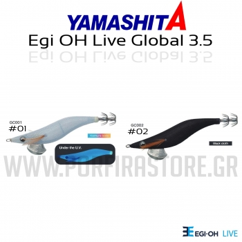 Yamashita Egi Oh Live Global 3.5